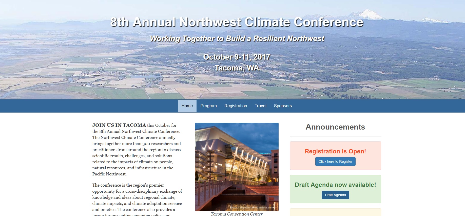 Northwest Climate Conference