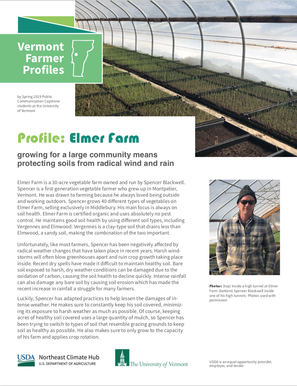 Farmer Profile: Elmer Farm
