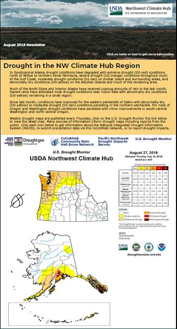 Glimpse of the NW Climate Hub Newsletter