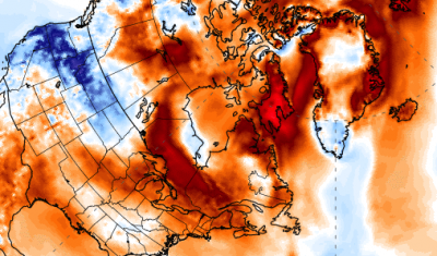 The Arctic is experiencing unseasonably warm weather with temperatures rising over 20 degrees Celsius above average.