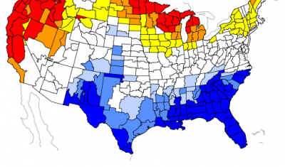 Risk of Seasonal Climate Extremes in the U.S. Related to ENSO