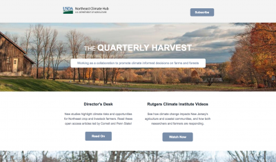 December 2017 Quarterly Harvest Screenshot