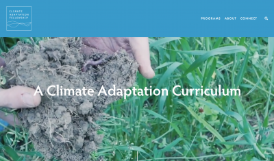 Climate Adaptation Fellowship website