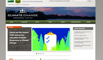 USDA Forest Service Climate Change Resource Center