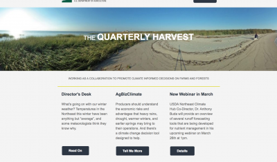 View of the March 2018 Quarterly Harvest