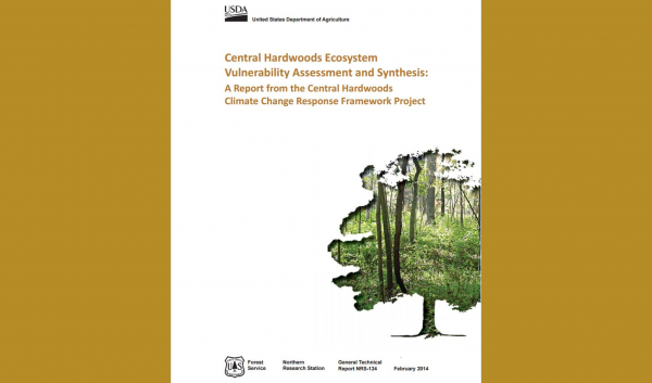 Publication assessing vulnerability of Central Hardwoods regional forests