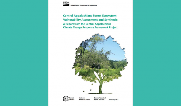 Publication assessing vulnerability of Central Appalachian forests