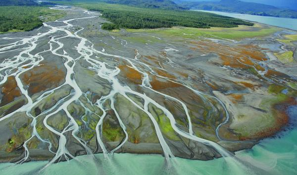 Grewingk Glacier River, Kachemak Bay, Cook Inlet. June 24, 2019. Credit: Create Commons Image from shorezone.org