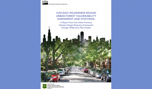 Publication assessing vulnerability of Chicago Wilderness forests